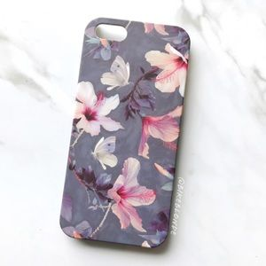 NEW iPhone 5/5s/SE Vintage Floral Hard Case